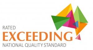 Exceeding Logo